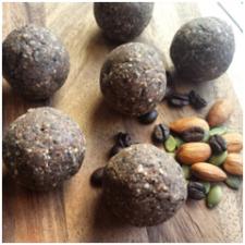 mocha protein balls
